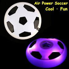 Air Power Soccer Football Disk Hover Glide Float Disc Fun Children Game Toys LED