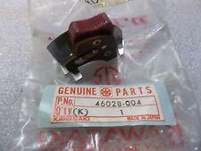 KAWASAKI ENGINE STOP KILL SWITCH BUTTON F11-A 1974 NOS/OEM 46028-004