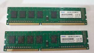 EUDAR-2x-2-Go-4-Go-Memoire-RAM-DDR3-PC3-1333-DIMM-CL9-PW201104071-1116-HP-DELL-PC
