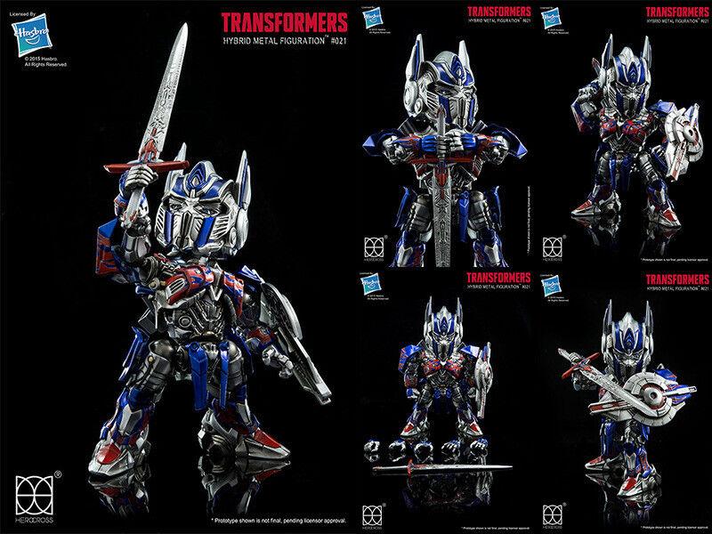 Herocross-Hybrid Metal figuración  021 Optimus Prime Transformers