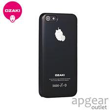 OZAKI O!COAT FRUIT OC537BL BLACKBERRY BACK CASE COVER iPhone 5 5S SE BLACK