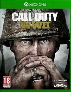Call-of-Duty-SECONDA-GUERRA-MONDIALE-WW2-Xbox-One-menta-spedizione-il-giorno-stesso-consegna-super