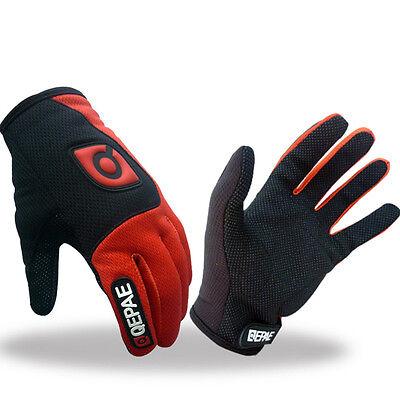 New Men/'s Winter Cycling Full Finger Gloves Thermal Bike Team Gloves