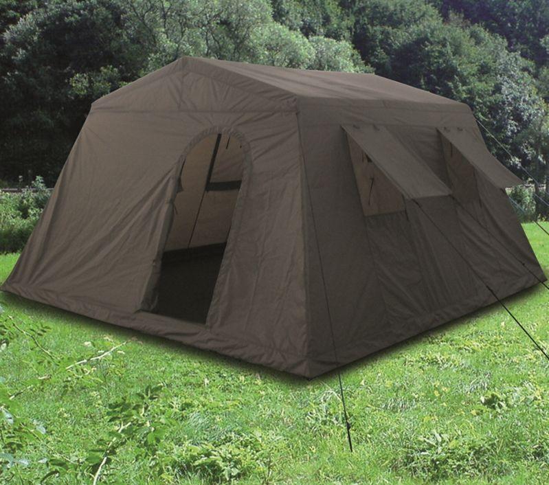 Armeezelt Zelt Mannschaftszelt Großzelt Gruppenzelt 6 Mann Pfadfinder oliv Neu