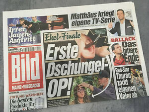 Bild-newspaper-dated-28-01-2012-Gift-for-Birth-Wedding-Christening-Anniversary