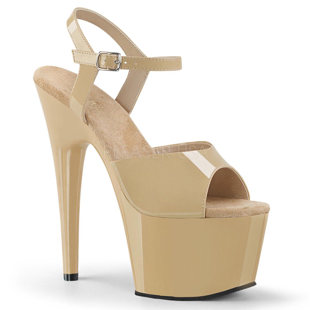 7  White Platform Stripper Heels Mens Drag Queen Tranny Tranny Tranny shoes Womans 11 12 13 14 8082f7