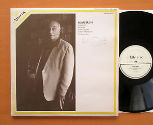 Alan Bush 24 Preludes RARE COMPOSER SIGNED COPY Linn Records AIR-2-9004 NM