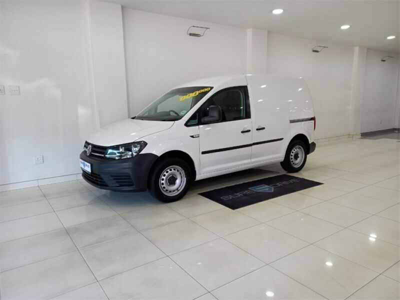 2016 Volkswagen Caddy Panel Van 1.6i, White with 95000km available now!