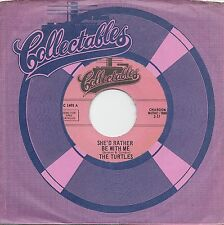 THE TURTLES  She'd Rather Be With Me / Rugs Of Woods & Flowers 45