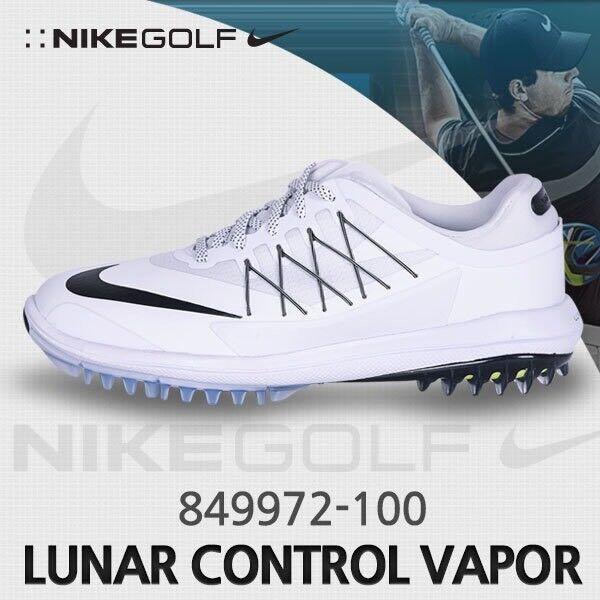 Nike vapor lunar kontrolle männer golfschuhe golfschuhe männer weiß - schwarz 849972-100 große art sz - 9. d4f904