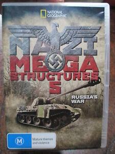 Nazi-Megastructures-5-DVD-Hitler-Season-5-Russias-War-Kursk-Germany-Panther-Tank