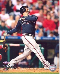 MLB Chipper Jones Atlanta Braves Action Photo #5 8x10