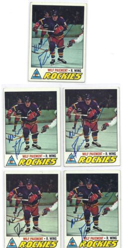 1977-78 Topps #42 Danny Gare Buffalo Sabres Autographed Hockey Card