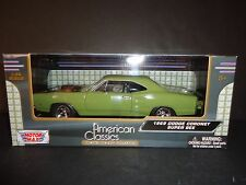 Motormax Dodge Coronet Super Bee 1969 Green 1/24 73315