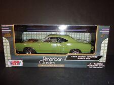 Motormax Dodge Coronet Super Bee 1969 Green 1/24 73315
