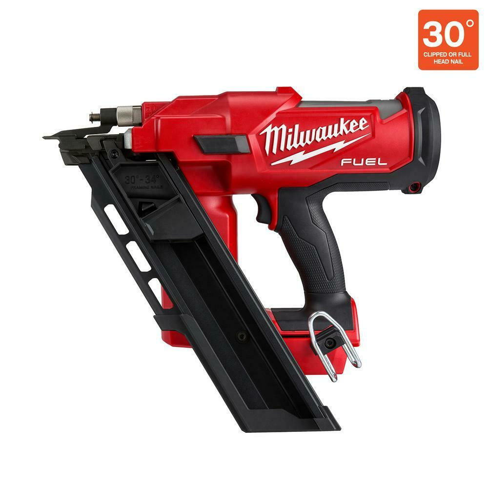 M18 FUEL 3-1/2 in. 18V 30-Degree Brushless Cordless Framing Nailer (Tool-Only). Buy it now for 384.60