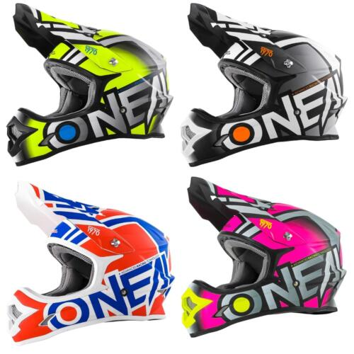 O/'Neal 3 Series Radium MX Helmet Moto Cross Enduro Quad Offroad Motorcycle Freestyle