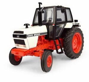 Universal-hobbies-1-32-David-Brown-1490-2wd-1981-tractor-DIECAST-Model-uh4270