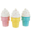 3-Ice-Cream-Cones-Candles-Homeworx-by-Harry-Slatkin-NEW thumbnail 1