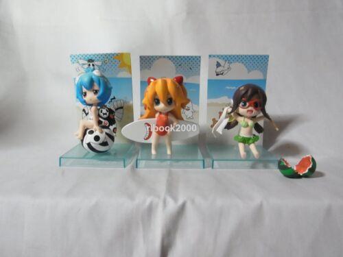 Evangelion Petit Eva girls Swimwear 3 figures set