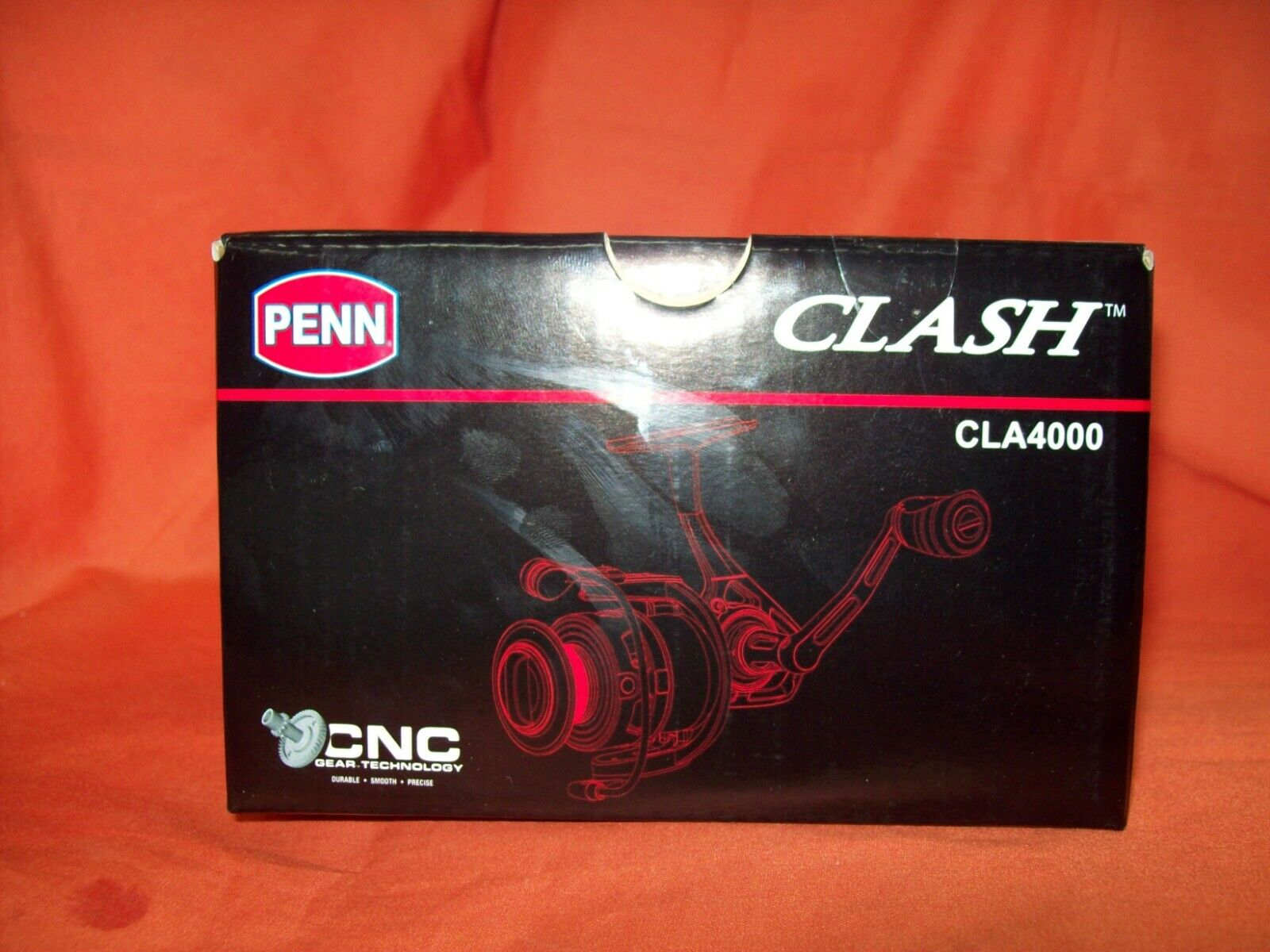 PENN Clash 4000 Spinning Reel Gear Ratio 6.2 1  1366181 CLA4000