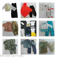 1 X Ken Action Man Gi Joe Dolls Clothes Outfits Trousers Shirt Shorts Suit Sets