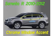 Window Accent Molding Chrome Garnish Trim 4p A914 For KIA Sorento 2010 2011 2012