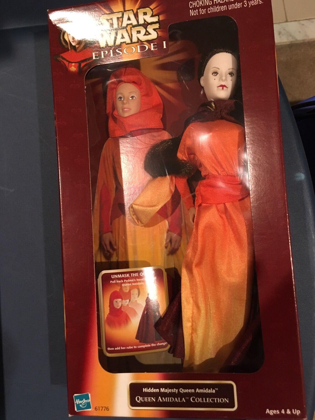 Star Wars Phantom Uomoace Queen Amidala dolls - Lot of 2