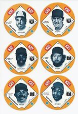 1985 85 KAS Ozzie Smith Potato Chips Snack Time Disc St Louis Cardinals - Rare