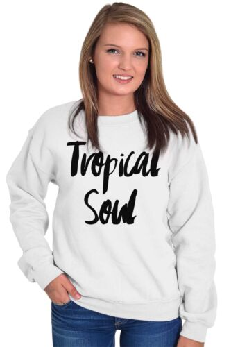 Tropical West Coast Beach Vacation Lifestyle Sweat Shirt Sweatshirt For Womens