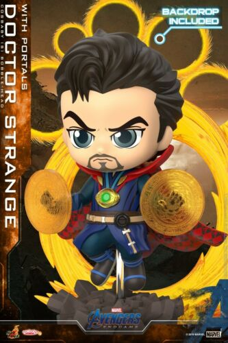 Endgame COSBABY Figure Hot Toys HT COSB655 Doctor Strange With Portals Avengers