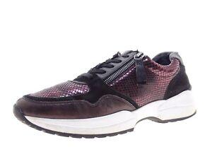 Gabor Damen Schuhe Sneaker Laufschuhe Freizeitschuhe Gr 42 Leder
