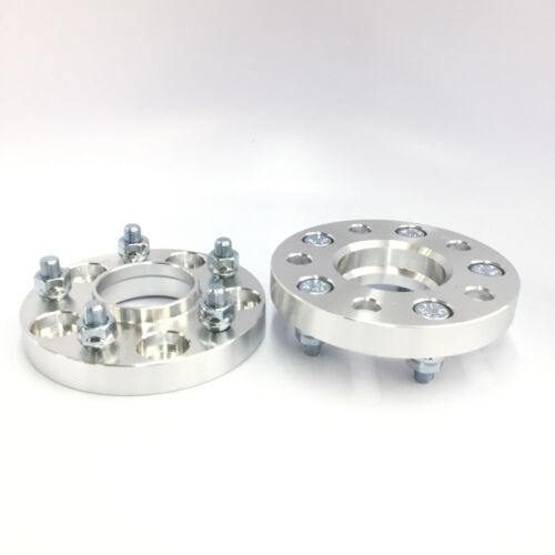 """2pc 1.25/"""" Thick Hubcentric Wheel Adapters w// Lip5x115 to 5x4.75 70.3 Hub Bore"""