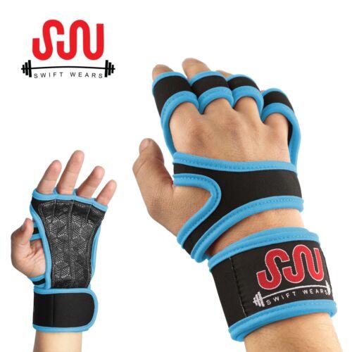 Fitness Gants Haltérophilie Gym Entraînement Training Poignet Wrap Bracelet Hommes//Femmes