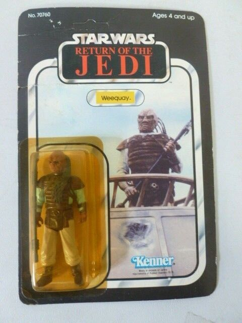 1983 Star Wars Return of the Jedi Weequay International Version