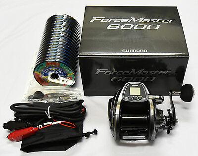 Shimano Force Master 6000 PE#10(90lb)-500m BigGAME Electric Reel From Japan