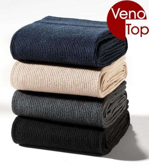 VenoTop Stützstrümpfe 280 den, Baumwolle, verschiedene Farben