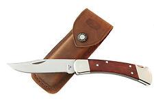 """Buck Knife 110 Folding Hunter D2, Cocobolo, Flat Grind """"Handsome Jack"""""""