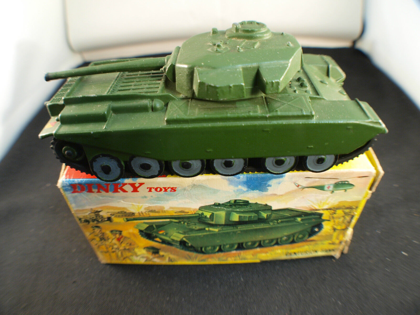 Dinky Toys GB 651 Tank Char CENTURION Military in