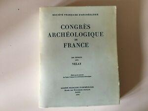 Congresso Archeologico Di Francia 133e Session 1975 Velay 1976