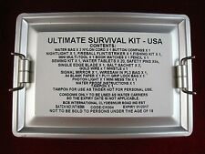 GENUINE BRITISH BCB AIR CREW RAF ULTIMATE SURVIVAL KIT USA MESS TIN SAS COMBAT