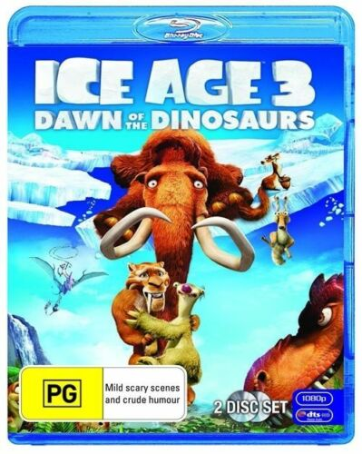 1 of 1 - Ice Age 3 - Dawn Of The Dinosaurs (Blu-ray, 2009)