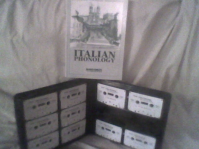 Audio-Forum ITALIAN PHONOLOGY COURSE LANGUAGE Tapes +