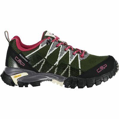 Cmp Trekking Scarpe Outdoorschuh Tauri Low Wmn Trekking Shoe Wp Verde Scuro-mostra Il Titolo Originale Bello A Colori