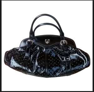 Image Is Loading Alexander Mcqueen 039 The 1962 Black Leather