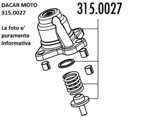 315 0027 Couverture Rgulateur Polini Piaggio Nrg Mc3 Pure Jet For