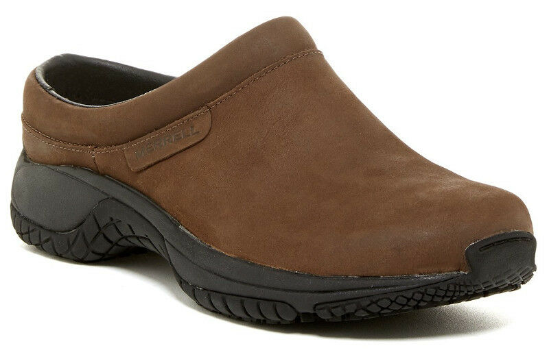 conveniente NEW MERRELL Encore Slide Pro Studio Slip-On Slip-On Slip-On Marrone Nubuck Leather scarpe US 7 37.5  risposte rapide