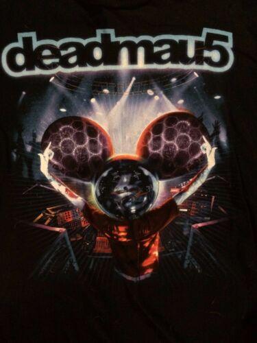 DJ DEADMAU5 Hands Up T-SHIRT M Techno House Music Mouse
