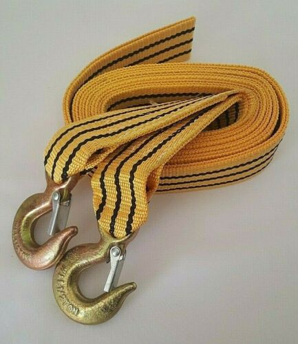 5 TONNE 5M Tow Towing Pull Rope Strap Rope Belt Heavy Duty Car Van Road Recovery