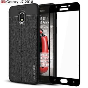 Samsung Galaxy J7 2018 / Refine / Star / Top / J7V 2nd, TPU Leather Texture Case